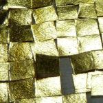atelier papetier – façonnage papier – papier washi – inclusion d'or – papier japonais – feuille d'or – washi et or