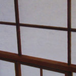 atelier papetier – porte japonaise – washi architecture – papier japonais architecture – shooji