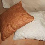 coussin en washi – atelier papetier – papier textile – papier tissu – coussin en papier – papier japonais