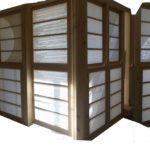 porte japonaise-atelier papetier-shooji-papier japonais architecture